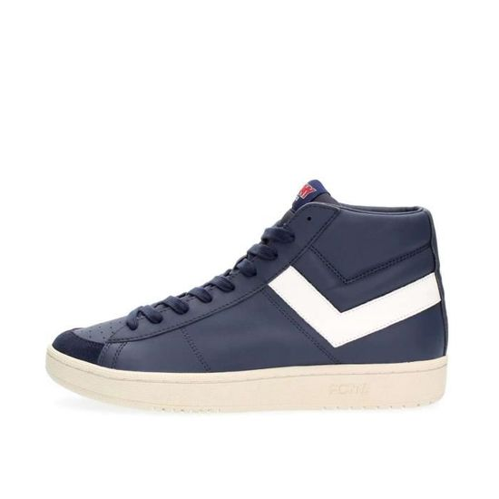 PONY SNEAKERS Homme BLUE WHITE, 42  Blue white - Achat / Vente basket