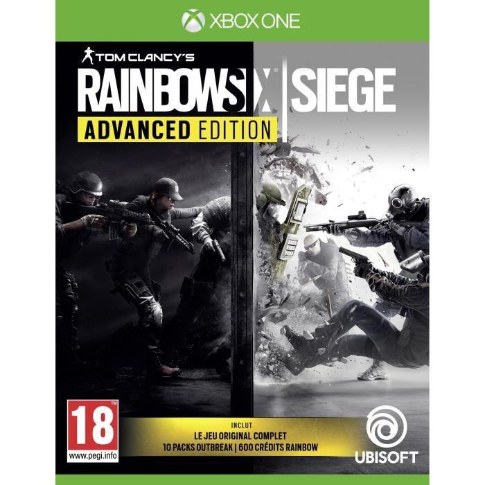 JEU XBOX ONE Rainbow Six Siege Advanced Edition Jeu Xbox One