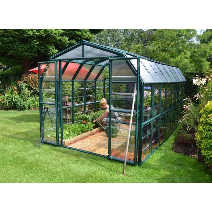 PALRAM Serre de jardin Grand Gardener 13,3 m² - Aluminium et polycarbonate