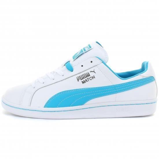 Puma Match propre Sneaker Fashion AGCH6 Taille-40 1-2 Noir Noir - Achat / Vente basket  - Soldes* dès le 27 juin ! Cdiscount