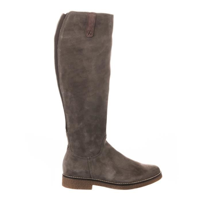 Bottes femme - MIGLIO - Taupe - WB-187H02 - Millim T5CPOKrR37