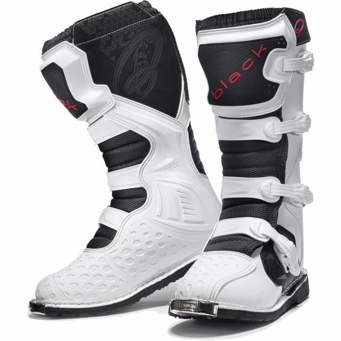 Black Boots MX Motocross Enigma