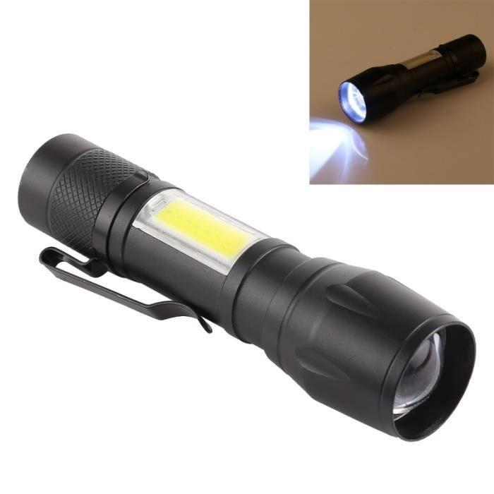 Étanche Et Zoomable De Clips Lampe 3 Poche Modes XpeCob Avec Rechargeable Boîte Rangement Usb Torche Led oQBexWErdC