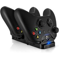 BATTERIE - CHARGEUR Xbox One Dual Charger Dock Chargeur Station pour X