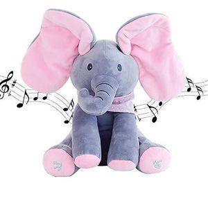 PELUCHE POUR ANIMAL PEEK-A-BOO l'éléphant en peluche cadeaux pour enfa