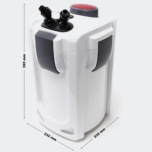 AÉRATION DE L'HABITAT Pompe filtre aquarium bio extérieur 1 000 litres p