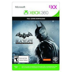JEU XBOX 360 À TÉLÉCHARGER Batman - Arkham Origins - Blackgate Jeu Xbox 360 à