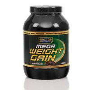 PACK FITNESS - GYM Mega Weight Gain 1500 g vanille