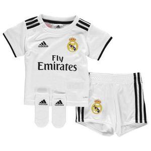 4f12ac07c693c MAILLOT DE FOOTBALL Nouveau Mini-Kit Officiel Bébé Adidas Réal de Madr