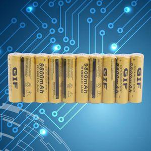 CHARGEUR DE PILES 🔋 10 PCS batteries - PILES 18650 Rechargeable de