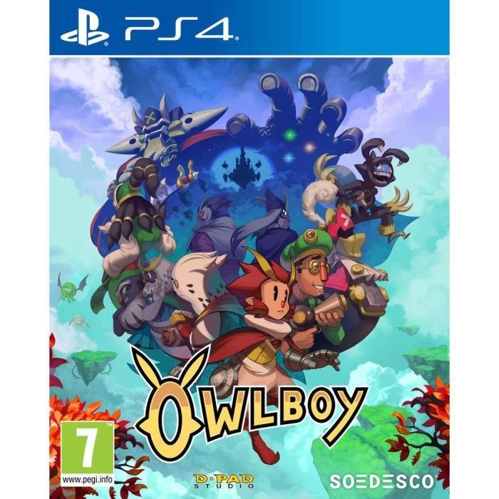 Owlboy Jeu PS4