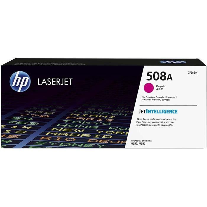 HP Cartouche de toner 508A - 5000 pages - Magenta