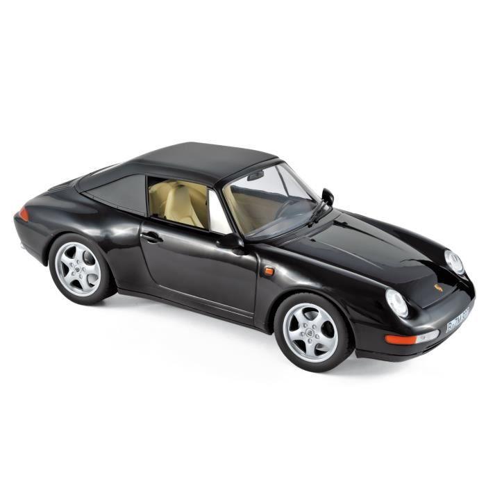 NOREV Porsche 911 Carrera Cabriolet 1994 - Noir
