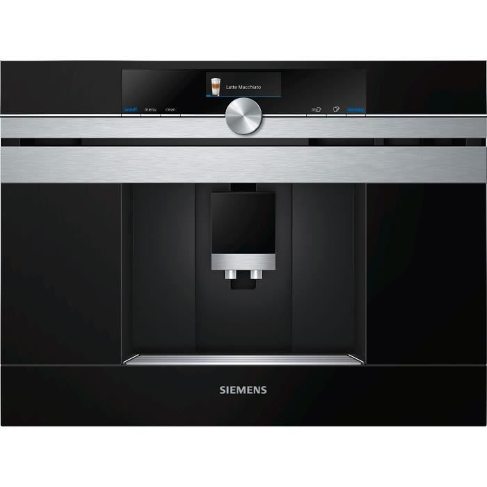 SIEMENS CT636LES6 Machine à café iQ700 - Réservoir 2.4L - 1600W - Prépare 2 tasses simultanément - I