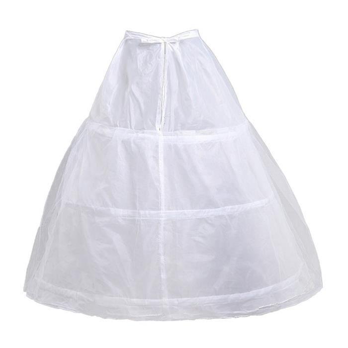 aabcb6f148d JUPON 3 Hoop Enfants Petticoat Glissades Filles Mariée Crinoline Jupons 301