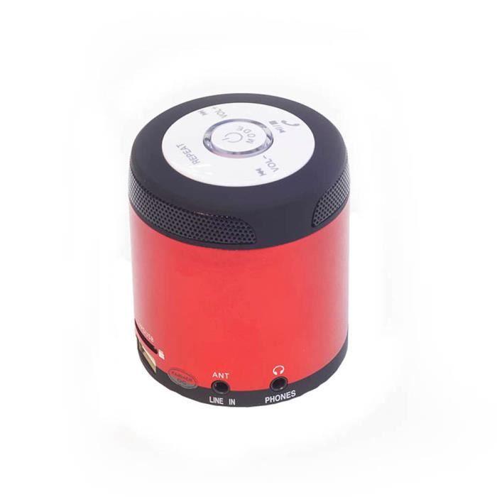Haut-parleur Fm Stéréo Portable Sans Fil Bluetooth Pour Smartphone Tablet Pc
