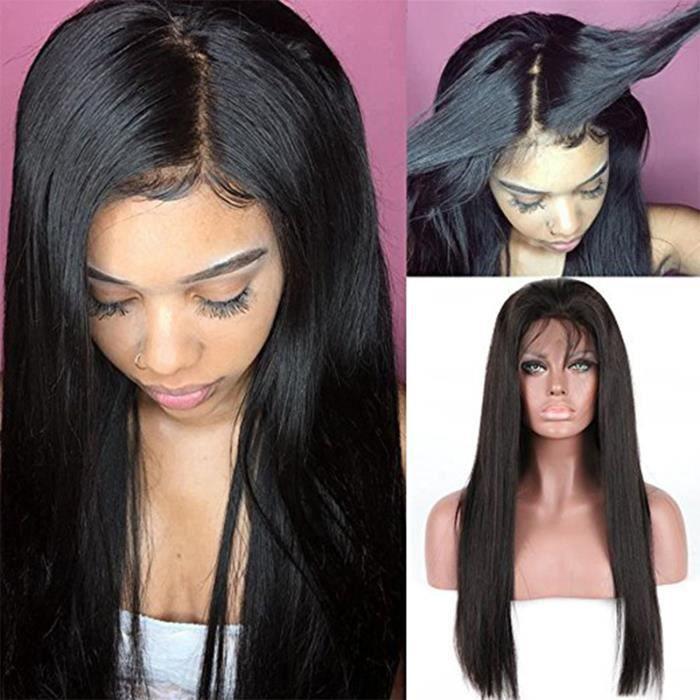 10Pouce Perruque Naturelle Cheveux Humain
