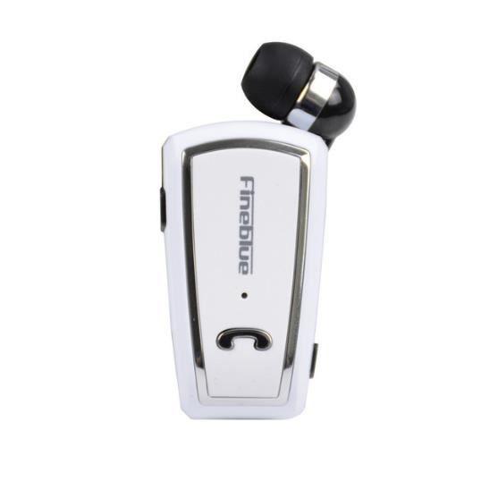 Fineblue Mini Rétractable Stéréo Bluetooth Casque Sans Fil Clip In-ear Pour Ios Android 4.0
