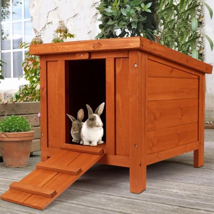 clapier pour lapin en bois achat vente clapier pour lapin en bois pas cher soldes d s le. Black Bedroom Furniture Sets. Home Design Ideas