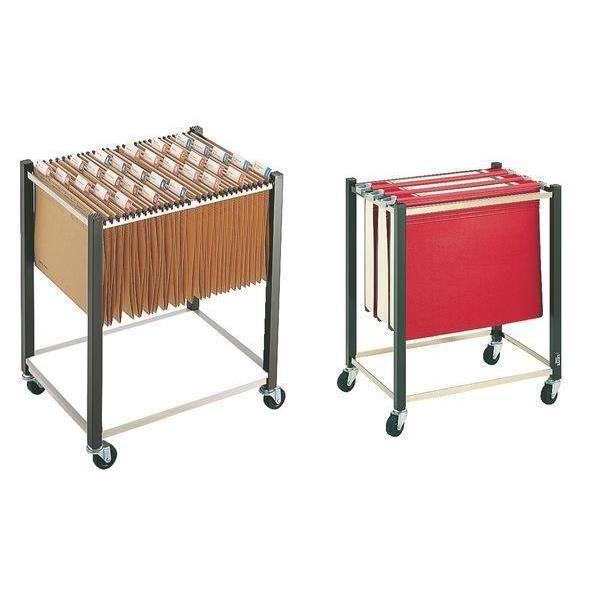 chariot pour dossiers suspendus a4 a3 marron 4 r achat vente meuble classement chariot. Black Bedroom Furniture Sets. Home Design Ideas