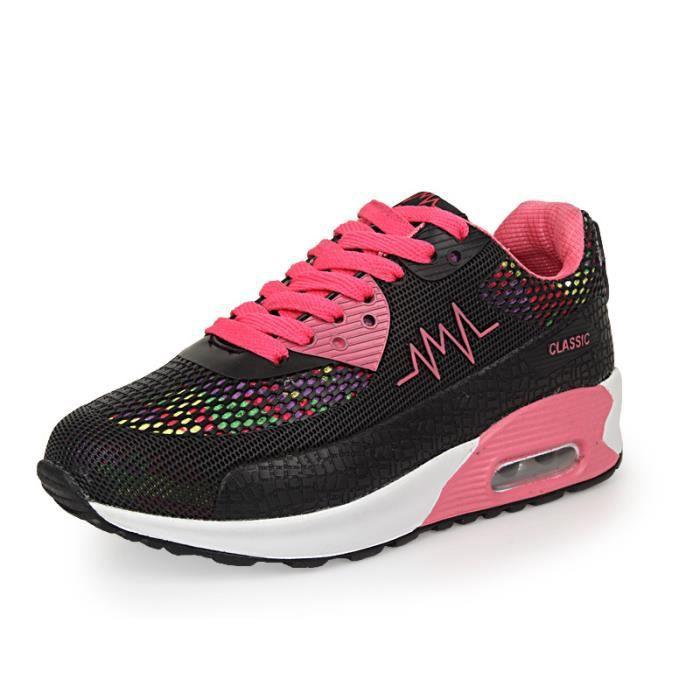 Basket Femme Chaussures De Course Running Feminine Respirante Air Chaussures SAY-365 KIANII® eZZXQpm