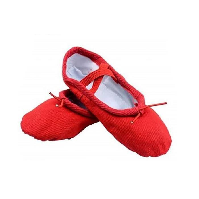 SSStancy-Yoga Toile Chaussures Enfants et adultes Tailles Ballet Danse Gymnastic IDTW4qd