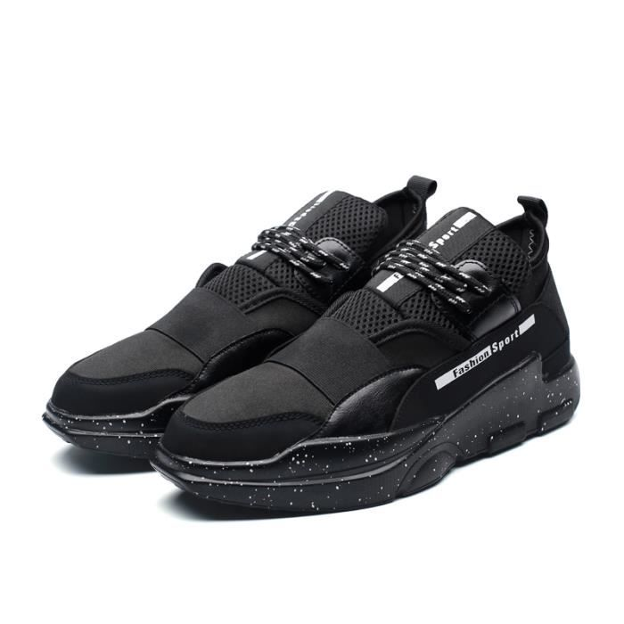 Baskets Running Masculines Chaussures Homme occasionnelles - Gris nfrDRVg