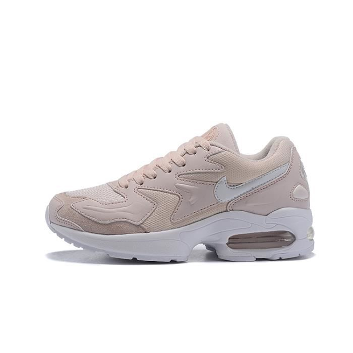 NIKE AIR MAX2 LIGHT Femme Chaussures de sport Baskets Rose