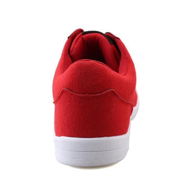Chaussures De Sport Pour Femme en daim Textile De Course Populaire BTYS-XZ127Rouge36 PeFmuBP
