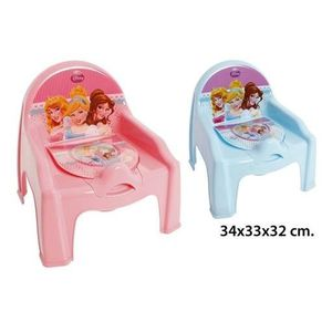 SURCOUCHE Chaise Pot De Chambre Enfant Bebe Princesse Rose