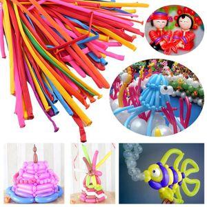 BALLON DÉCORATIF  100pcs magique Ballons long Faire des animaux Twis
