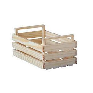 cagette en bois achat vente cagette en bois pas cher cdiscount. Black Bedroom Furniture Sets. Home Design Ideas