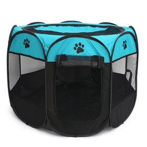 CLÔTURE - GRILLAGE Pet Portable Foldable Playpen, Exercice 8-Panneau