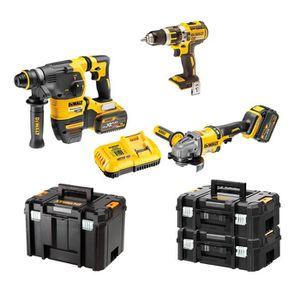 PACK DE MACHINES OUTIL DeWALT Kit FVK381X2-QW 54V/18V (DCH333 + DCD796 +