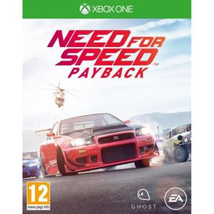 JEU XBOX ONE Need For Speed Payback Xbox One+1 Porte Clés