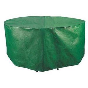 Housse pour table de jardin ronde standard 102cm - Achat / Vente ...