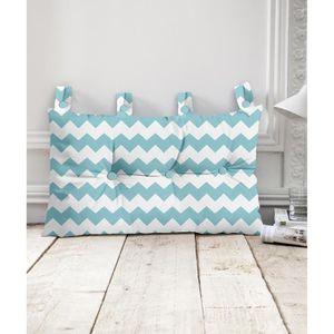 t te de lit bleu achat vente t te de lit bleu pas cher cdiscount. Black Bedroom Furniture Sets. Home Design Ideas