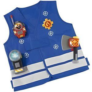 ACCESSOIRE DÉGUISEMENT SAM le pompier - Kit de pompier d?guisement access