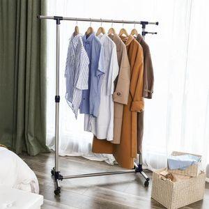PENDERIE MOBILE Songmics Portant Penderie à vêtement, Porte mantea