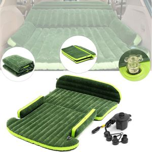 LIT GONFLABLE - AIRBED Lit Gonflable Matelas Voiture SUV Coussin Air Sièg