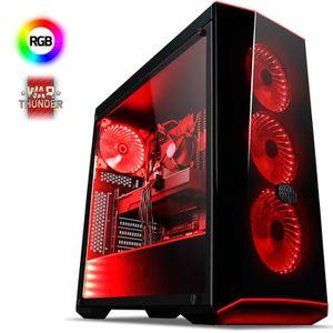 UNITÉ CENTRALE  VIBOX Sniper 10 PC Gamer - Intel 4-Core, Geforce G