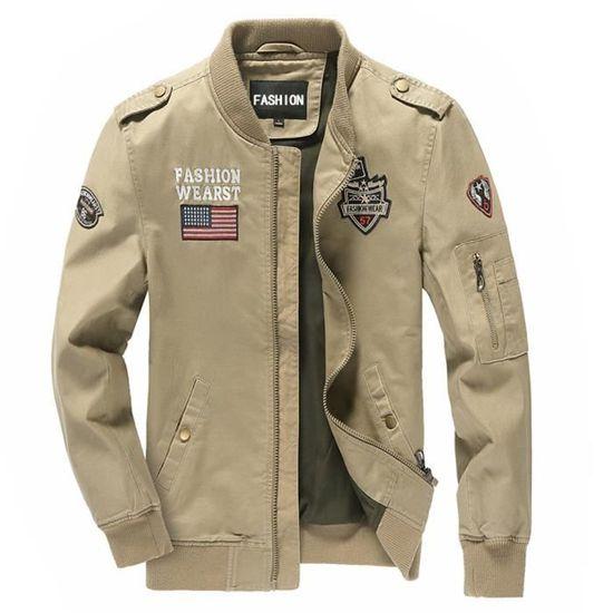 promo code ac3b7 91fdf veste-homme-blouson-aviateur-leger-imprime-devant.jpg