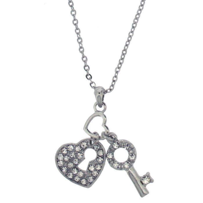 H. Gaventa Ltd - 16222 - Collier Avec Pendentif Femme - Coeur - Métal Z8P0R