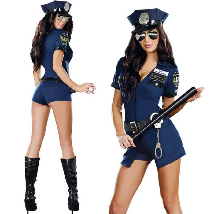 Hot cop cosplay with hung tranny taniaq