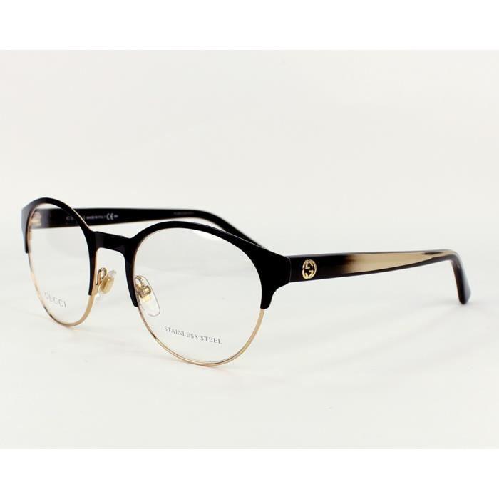 Lunettes de vue Gucci GG 4275 -H3X Noir - Or Noir, Or - Achat ... a910f0be0405