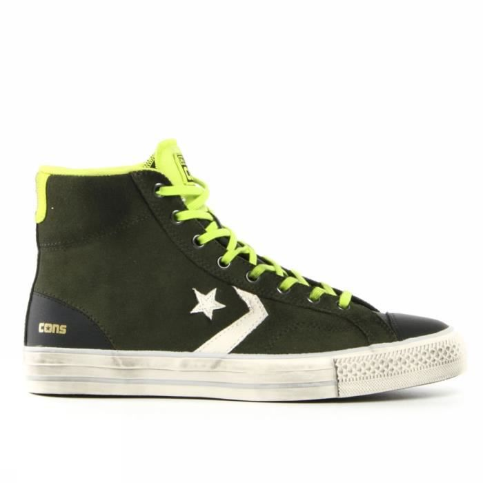 converse star player adulte suede hi