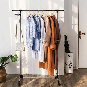 Hauteur penderie dressing elegant dressing sans porte sur mesure unik meubles c lio hauteur - Portant vetement castorama ...