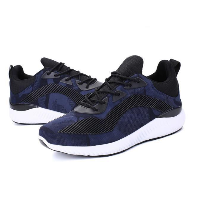 JOZSI Baskets Homme Chaussure été et hiver Jogging Sport léger Respirant Chaussures BJYG-XZ223Noir39 cG7SP