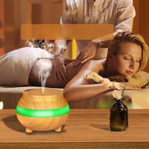 HUMIDIFICATEUR ÉLECT. USB Air Aroma Essential LED Diffuseur d'huiles à u