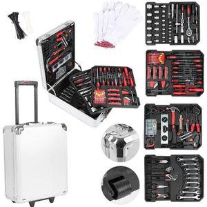 VALISETTE - MALLETTE 725 pcs-Boîte à outils,Aluminium Trolley Valise à